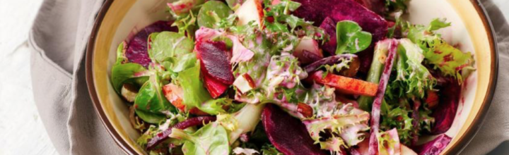 Apple Beet Ginger Salad Recipe by Daisy Nichols